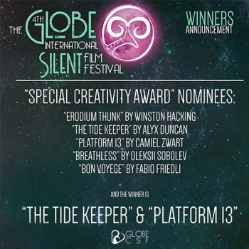 The Creativity Special Award was shared by two films.